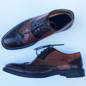 Aldo • Wingtip Genuine Leather Brogues